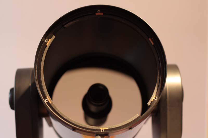 Forums d 39 astronomie webastro r ducteur de focale for Miroir cassegrain