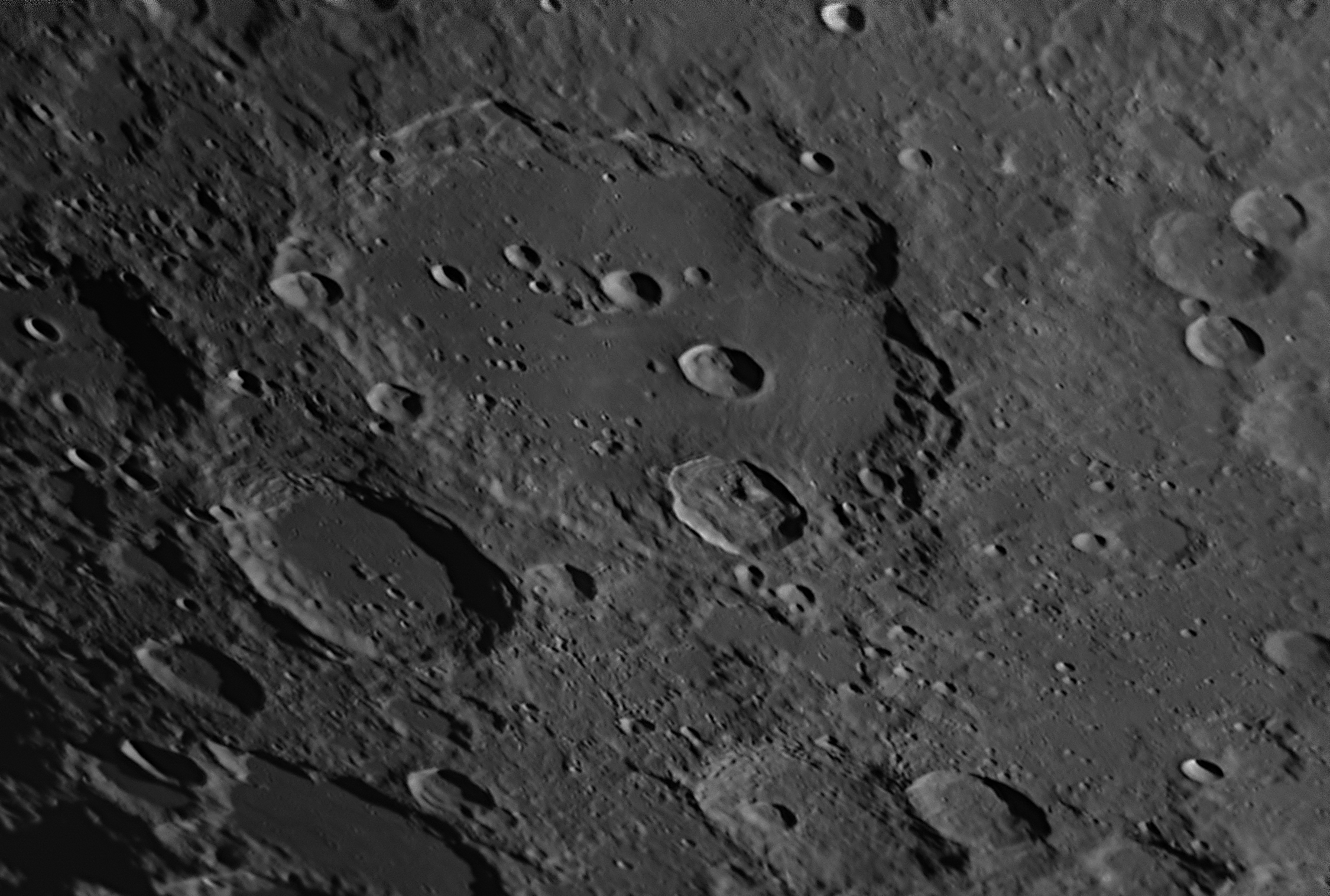 Clavius with the Basler 1920-155um