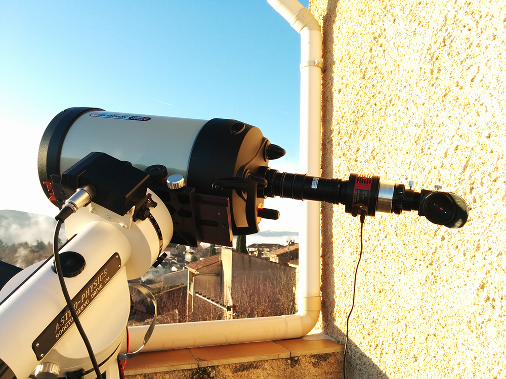 HA high resolution telescope