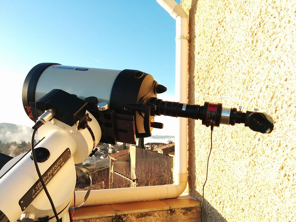 HA high resolution telescope